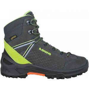 Lowa - Arco GTX® Mid Barn Hikingskor (grå/grön) - EU 36 - UK 3,5