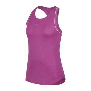 Nike - Court Dry Dam Tennistop (rosa) - L