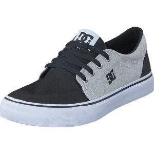 DC Shoes Trase Tx SE Black/White/Black, Skor, Sneakers & Sportskor, Låga sneakers, Grå, Barn, 27