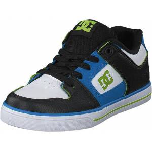 DC Shoes Pure Elastic Se Blue/Black/White, Skor, Sneakers och Träningsskor, Sneakers, Svart, Barn, 30