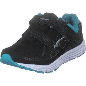 Bagheera Pico Black/turquoise, Skor, Sneakers & Sportskor, Walkingskor, Svart, Barn, 30