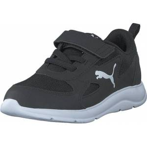 Puma Puma Fun Racer Ac Ps Puma Black-puma White, Skor, Sneakers och Träningsskor, Sneakers, Svart, Grå, Barn, 29
