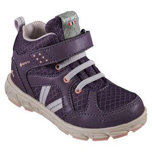 Viking Footwear Kid's Alvdal Mid Reflex Gore-Tex Lila