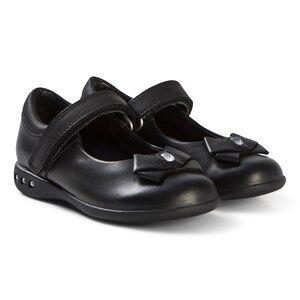 Clarks Prime Skip School Skor Black Leather Barnskor 28 (UK 10)