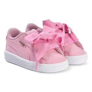 Puma Ribbon Lace Sneakers Rosa Barnskor 24 (UK 7)