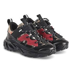 Burberry Vintage Rutiga Sneakers Svart/Röd Barnskor 34 (UK 2)