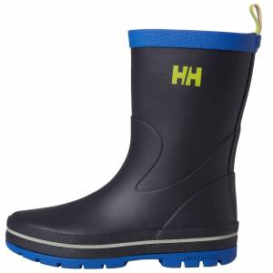 Helly Hansen Kids Midsund 3 Waterproof Rubber Boots   Hh Se US Y4/EU 34 Navy