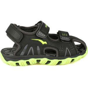 Bagheera Crux II Sandal, Black/Lime 22