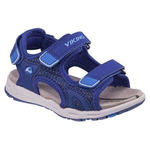 Viking Anchor II Sandal, Dark Blue/Blue 24