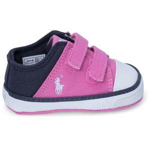 Ralph Lauren Darian Ez Layette Babysko, Pink/Navy 19