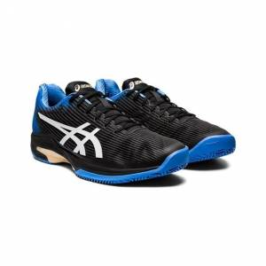 Asics Solution Speed FF Clay/Padel Black/Blue Coast 41.5