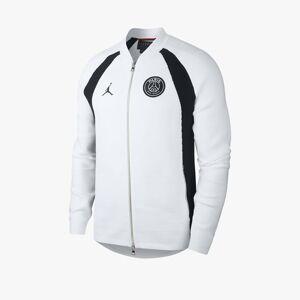 Jordan Brand Psg Full Zip Flight Knit för män i vitt S White
