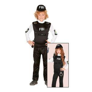 Fiestas Guirca FBI-Agentti Lasten Naamiaisasu - Small