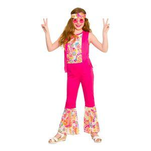 Wicked Costumes Ltd Hippityttö Lasten Vaaleanpunainen Naamiaisasu - Medium