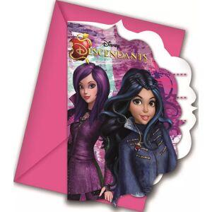Disney Invitasjoner - 6 stk (126-86381)