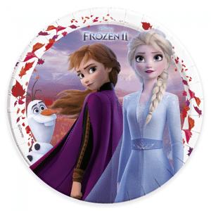 Disney Frozen 2 Papptallerkener 23cm - 8 stk