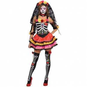 Amscan Costume Miss Death for Adult (Babies and Children , Costumes...