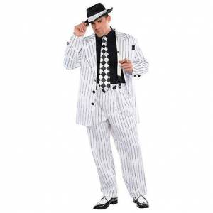 Amscan Mafioso Boss Adult Standard Costume (Babies and Children , C...