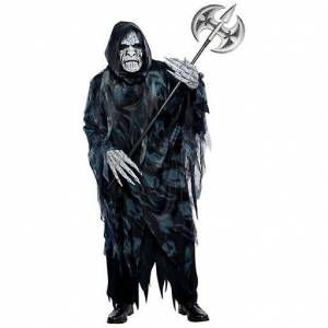 Amscan Standard Adult Souls Taker Costume (Babies and Children , Co...