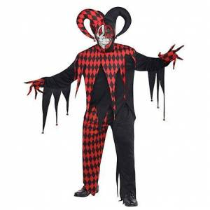 Amscan Sinister Joker Costume for Adult Standard (Babies and Childr...