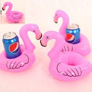 Flamingo Oppblåsbar koppholder til bassenget Flamingo