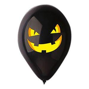 Ballongkungen AB Ballonger Halloween Gresskar Svart - 100-pakning