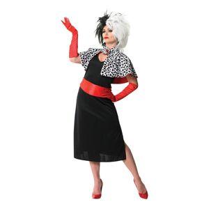 Rubies Costumes Co. Disney Cruella De Vil Karnevalsdrakt - Medium