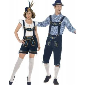 Parkostyme - Bayern Oktoberfest Luksuskostymer