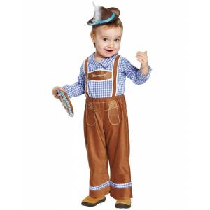 Sjarmerende Oktoberfestgutt - Barnekostyme