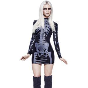 Mrs X-Ray - Wet-Look Kostyme