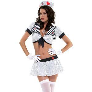 Marinens Frekke Dame - Kostyme