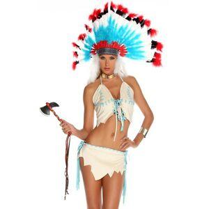 Indian Tipi Treat - Hvitt Indianer Kostyme