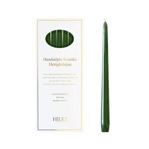 Hilke Collection Herrgårdsljus 6-Pack  Mörkgrön Glans