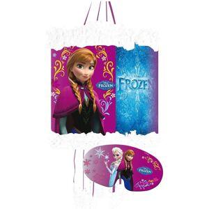 Anna og Elsa Pinata med Øyemaske 28x20 cm - Frost - Disney Frozen