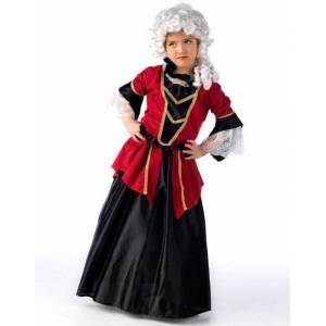 Barokkens Lille Frøken - Luksus Barnekostyme