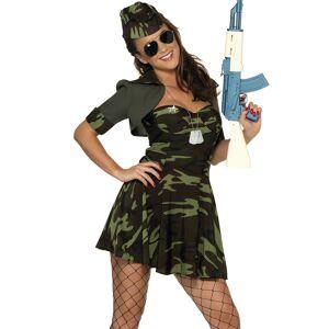 Forsvaret Militær Babe - Damekostyme