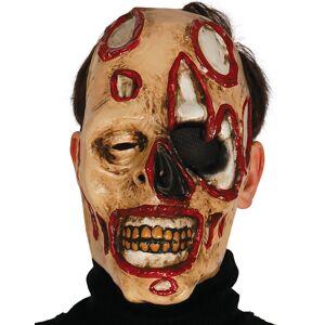 Zombie Maske i Tynn Plast