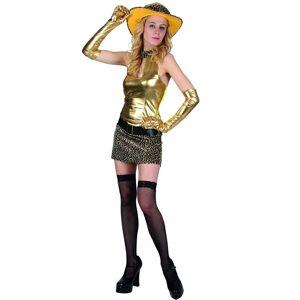 Golden Tiger Lady - Kostyme