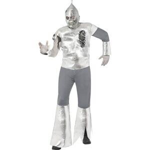 Bad Tin Man med Maske - Komplett Kostyme - Strl M