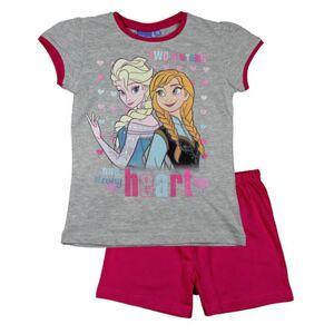 Grå og Rosa Frozen Pyjamas til Jente
