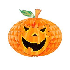 Jack O' Pumpkin - Halloween Honeycomb Dekorasjon 30 cm