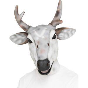Reinsdyr - Stor Heldekkende Latex Maske