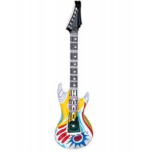 Rock n Roll Oppblåsbar Gitar - 107 cm