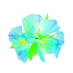Pen Hårspenne med Lys Blå Hawaii-Blomst