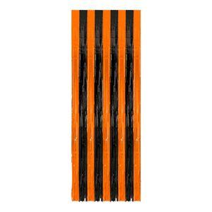 Amscan Dörrdraperi Halloween Svart/Orange