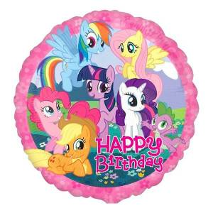 Amscan Folieballong Happy Birthday My Little Pony