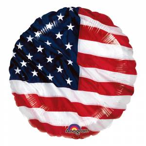Amscan Folieballong USA Flagga