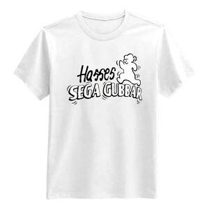 Netshirt.se Hasses Sega Gubbar T-shirt - Small