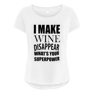 Netshirt.se I Make Wine Disappear Dam T-shirt - X-Small