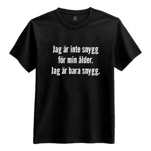 Netshirt.se Jag Är Inte Snygg Dam T-shirt - X-Small